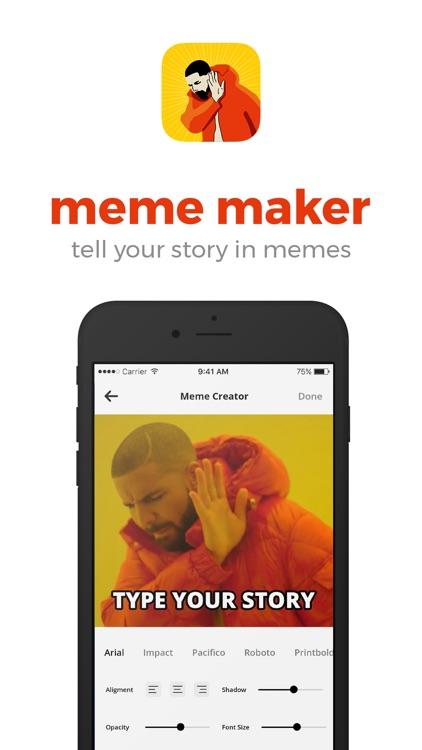 Meme Generator + Memes Creator