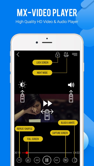 Screenshot for MX Video Player in United Arab Emirates App Store