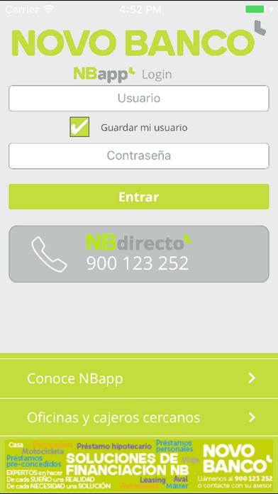 NBapp ES screenshot one