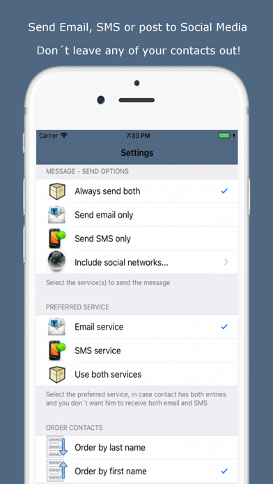 Mass Text Messaging App