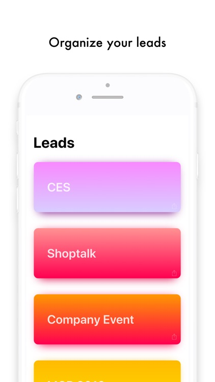 Leads - Simple Lead Capture