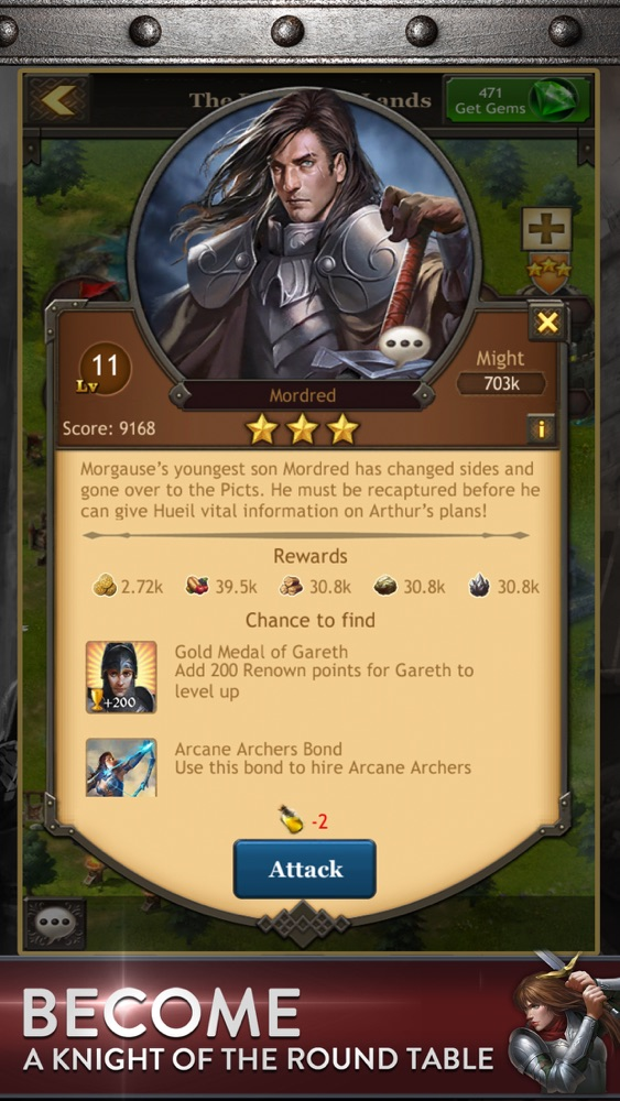 Kingdoms of Camelot: Battle App for iPhone - Free Download