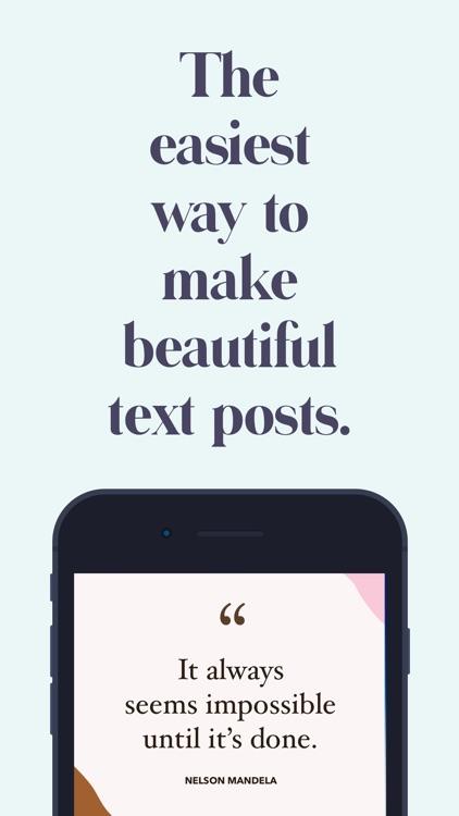 Word Swag - Cool Fonts screenshot-0