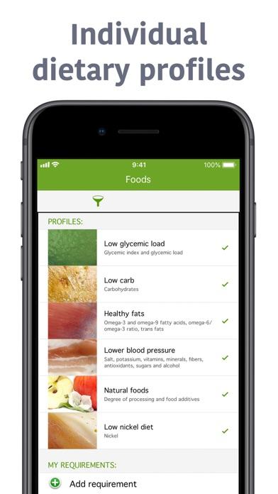 Natural food guide Screenshot