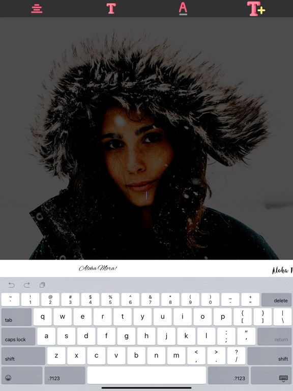 Screenshot #4 for Text on Image - Photo effects