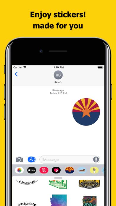 Arizona emojis - USA stickers screenshot 5