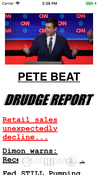 Drudge Report (official) review screenshots