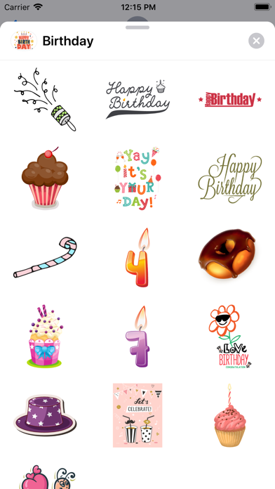 100+ Happy Birthday Wish Pack app image