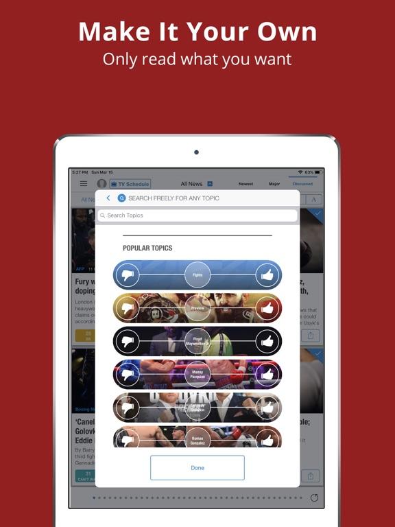 Boxing News & Videos - Sportfusion screenshot