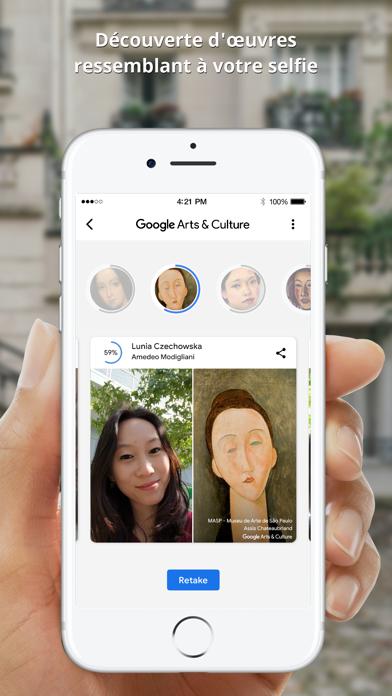 Google Arts & Culture sur pc