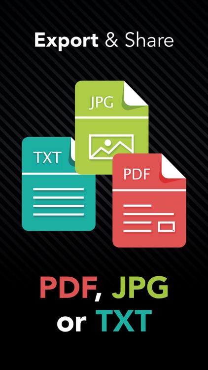 ScanSky : PDF Document Scanner screenshot-3