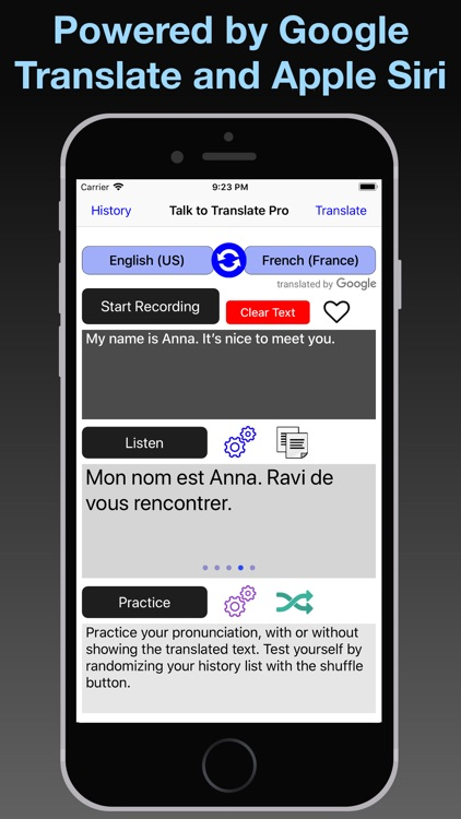 T2T Pro: Speech Translation screenshot-7