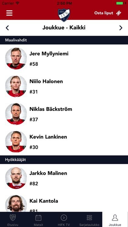 HIFK screenshot-4