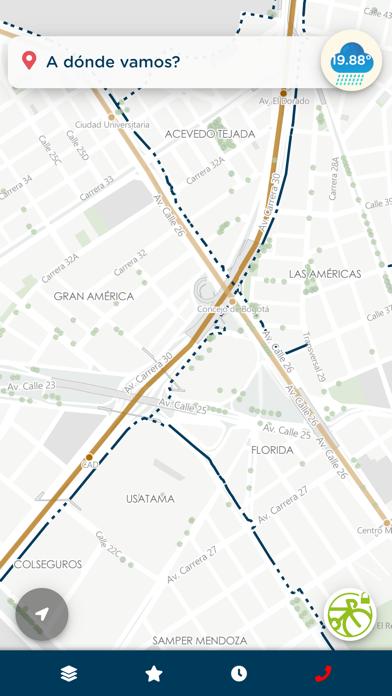 Mapas Bogotá BiciCaptura de pantalla de1
