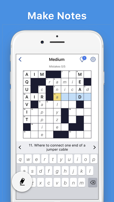 Crosswords - Word Puzzle Game screenshot 2
