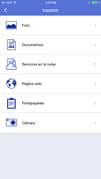 Screenshot for Brother iPrint&Scan in Spain App Store
