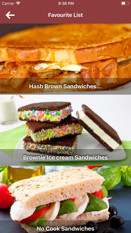 Sandwiches Recipe in English screenshot-4