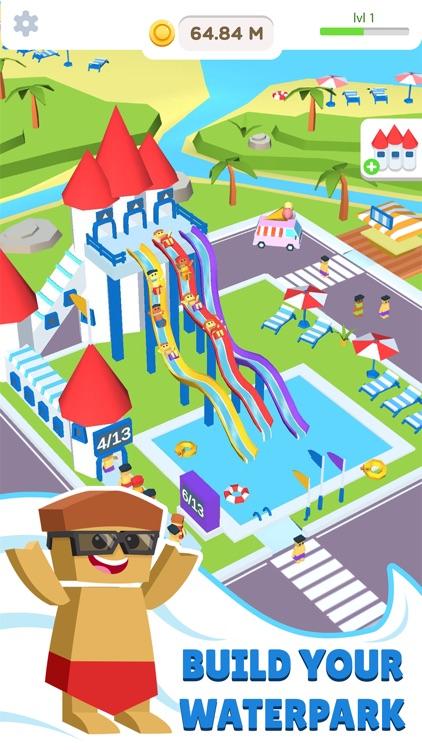 Idle Waterpark 3D Fun Aquapark screenshot-0
