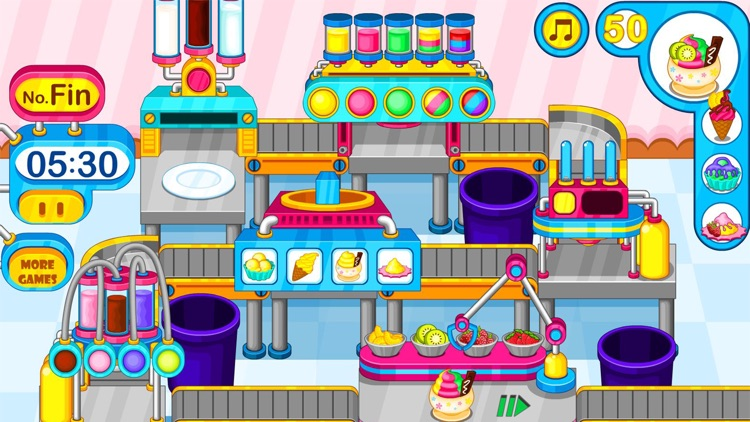 Cooking colorful ice cream screenshot-5