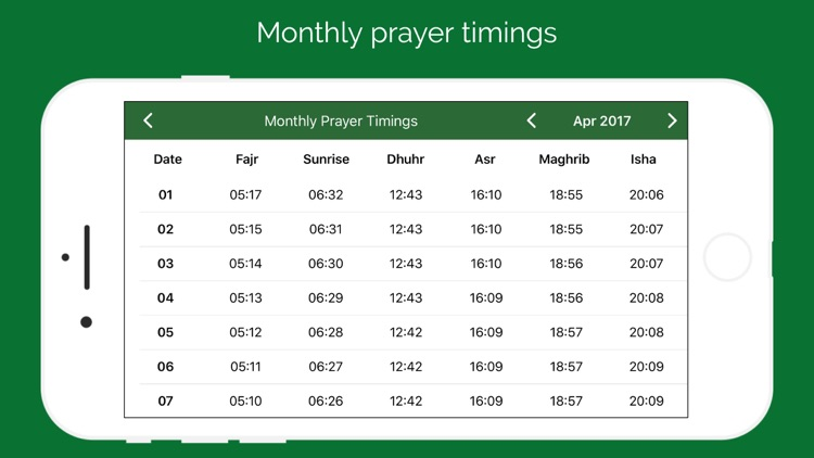 Muslim Prayer Times & Qibla screenshot-5