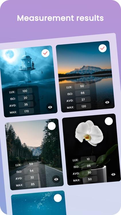 Light Meter: Measure Lux screenshot-3