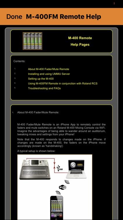 M-400FM Remote screenshot-3