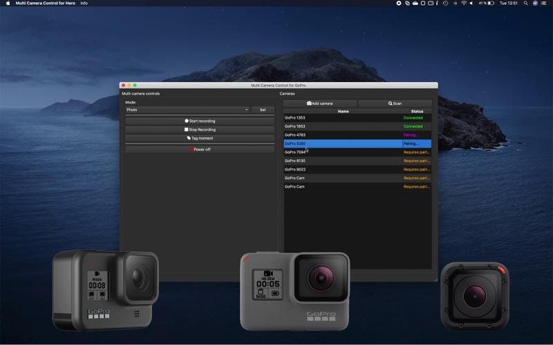 Multi Camera Control for Hero for Mac
