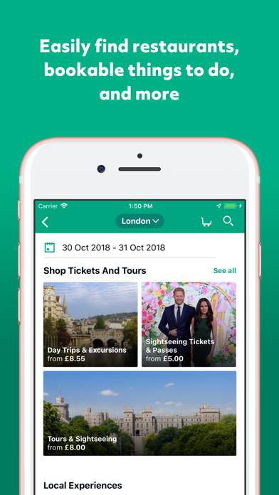 Screenshot for TripAdvisor Hotels Restaurants in Azerbaijan App Store