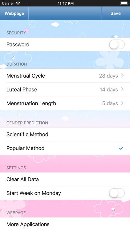 Fertility & Period Tracker screenshot-4
