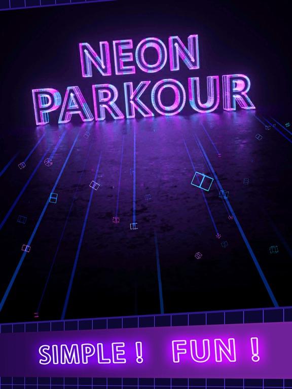 Neon Parkour screenshot #1