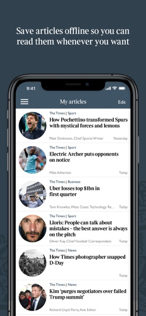 The Times & The Sunday Times on the App Store