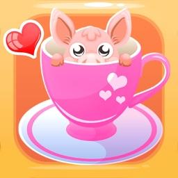 Mini-Pig Pet Emoji Stickers