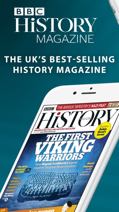 BBC History Magazine Screenshot on iOS