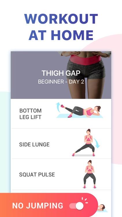 Female Fitness - Leg Workouts screenshot-3
