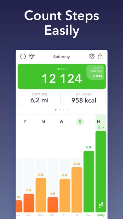 Stepz - Step Counter & Tracker screenshot-0