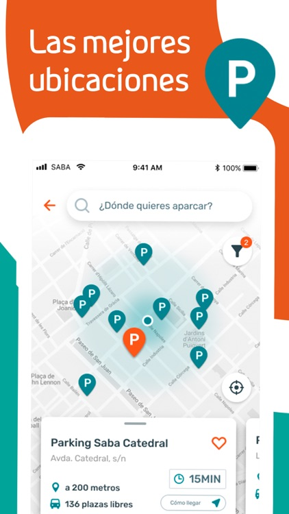 Saba - App de estacionamiento screenshot-4