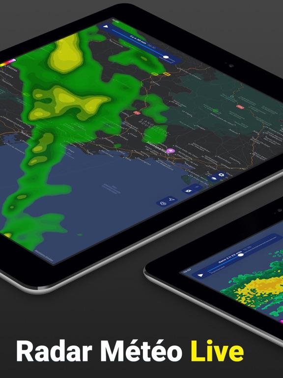 Screenshot #4 pour Clime: Radar Météo Live