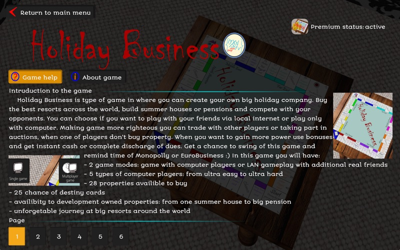 Holiday Business Premium for Mac