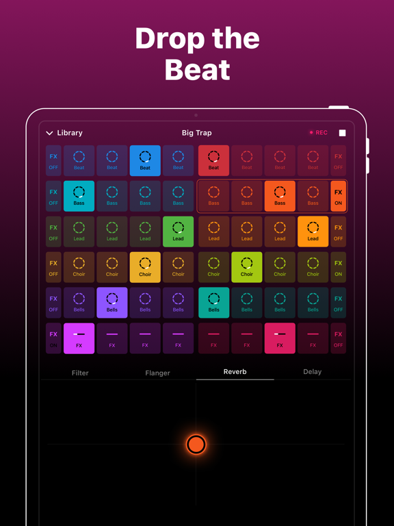 iPad Image of Groovepad - Music & Beat Maker