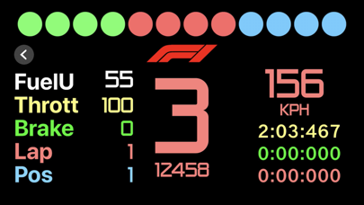 Sim Racing Dash for F1 2018 screenshot 3