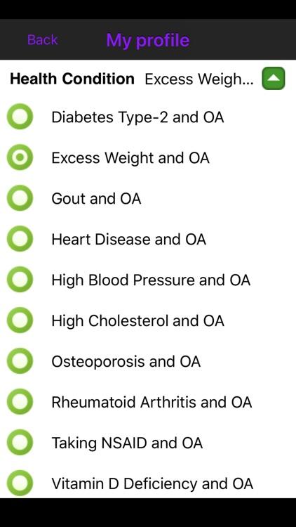Osteoarthritis screenshot-4