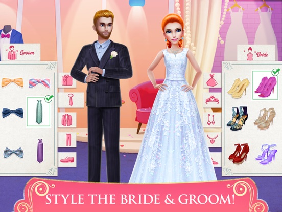 Dream Wedding Planner Game iPad app afbeelding 2