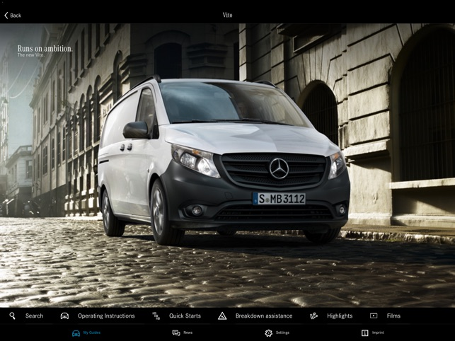 Mercedes-Benz Guides on the App Store