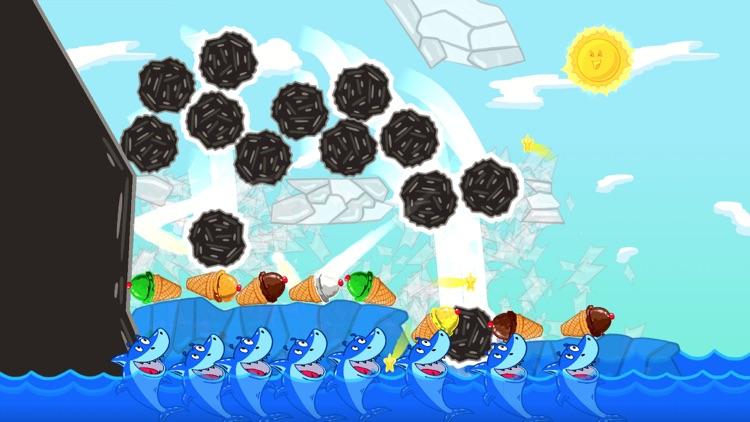 Ice Cream Mixer: Shark Games L screenshot-3