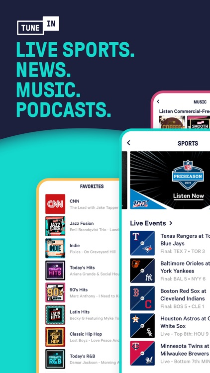 TuneIn Pro - Radio & Sports screenshot-6