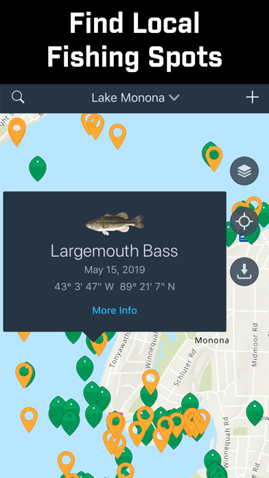 Fishidy: Fishing Maps App Screenshots