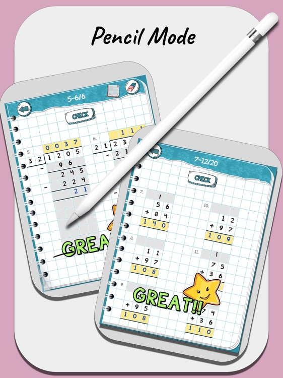 My Math Notebook - Worksheets by MADGICAL TECHDOM (OPC
