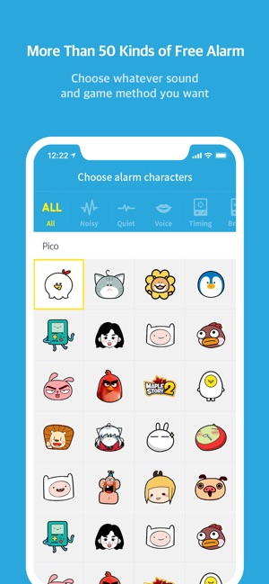 AlarmMon ( alarm clock ) on the App Store