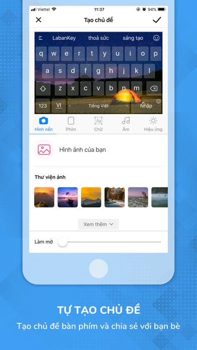 Screenshot for Laban Key: Gõ tiếng Việt in Viet Nam App Store