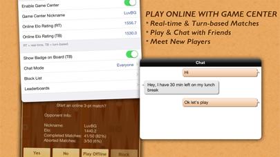 Backgammon NJ HD screenshot1
